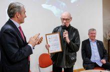 Premijos laureatas S. Poškus: vaikas – lygiavertis pašnekovas