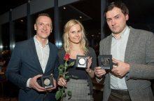 Sporto žurnalistai apdovanojo metų laureatus