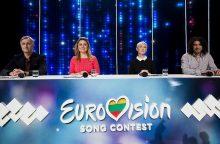 """""""Eurovizijos"""" atrankoje B. Nicholson susipažino su savo laidos balsu"""