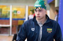 Į Budapeštą išvykstantis D. Rapšys: čempionatui esu tikrai pasiruošęs