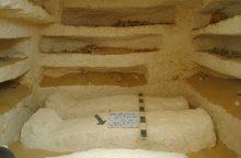 Egipte rasti trys senoviniai kapai ir keli sarkofagai
