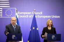 ES atmetė B. Netanyahu raginimą pripažinti Jeruzalę Izraelio sostine