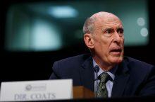 JAV žvalgybos vadas: įrodymai dėl Rusijos kišimosi į rinkimus yra neabejotini