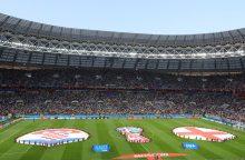 FIFA: pasaulio futbolo čempionate teigiamų dopingo testų kol kas nebuvo