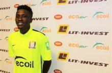 """""""Trakų"""" komandą papildė devyniolikmetis gynėjas iš Nigerijos"""