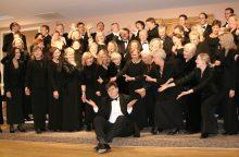 JAV lietuvių choro vadovas D.Polikaitis: jie aukoja atostogas dėl dainavimo Lietuvoje