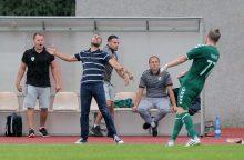 Sutriuškinto Kauno klubo treneris prabilo apie skaudžias pamokas