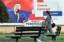 Tiksinti bomba: separatistai nerimsta ir Balkanuose