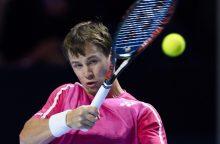 R. Berankis ATP reitinge prarado tris pozicijas