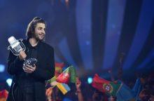 """Kitąmet """"Eurovizijos"""" dainų konkursas vyks Lisabonoje"""