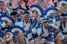 Japonijos festivalyje susirinko milijonas šokių mylėtojų