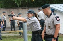 Išrinktas geriausias Vilniaus apskrities viešosios policijos patrulis
