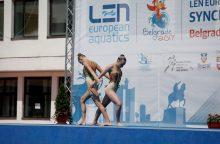 Belgrade – geriausi rezultatai Lietuvos dailiojo plaukimo istorijoje