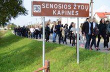 Garliavoje – žydų genocido dienai skirtas minėjimas