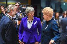 Derybose dėl ES ir britų ateities santykių – ir Lietuvos prioritetai