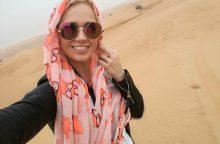 Dubajuje atostogaujančią I. Martinkėnaitę nustebino daugpatystė