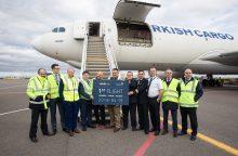 Iš Vilniaus skraidysiantys turkai padvigubins gabenamų krovinių skaičių
