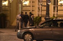 R. Williamsas vėlų antradienio vakarą slapta atvyko į Vilnių