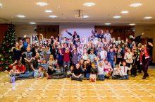 Vilniaus regbio akademija surengė kalėdinę gerumo akciją