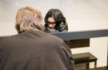 Įtariamajai nunuodijus sūnelį pasiūlyta beveik maksimali bausmė