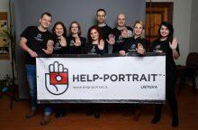Pagalbos portretas, arba itin užkrečiamas gėrio virusas