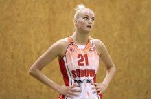 LMKL lyderių mūšyje žibėjusi L. Svarytė – geriausia savaitės žaidėja