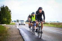 330 kilometrų įveikę labdaringo maratono dalyviai finišuoja Vilniuje