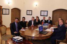 Kinai Kauno rajone domisi žemės ūkiu, galimybėmis studijuoti ir investuoti