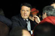 Italijos Demokratų partijos pirmininku tapo M. Renzi