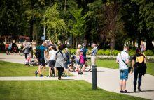 Vasarą vilniečiai galės sportuoti ir Lukiškių aikštėje
