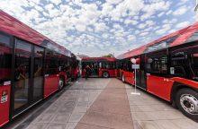 Į Vilnių vėluojama pristatyti naujus autobusus ir troleibusus
