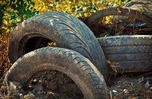 Mokslininkai: panaudotas padangas galima paversti degalais