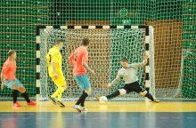"""Panevėžio """"Baltijos"""" futbolo klubas pradeda ruoštis UEFA salės taurės atrankai"""