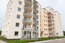 Sutaupyti 600 tūkst. eurų keliauja socialinio būsto statyboms
