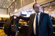 Paryžiuje vyksta tarptautinė žemės ūkio paroda