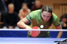 Lietuvos stalo teniso rinktinių nesėkmės Europos čempionato atrankoje