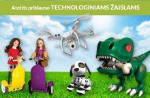 Technologinių žaislų era: ne tik smagu, bet ir naudinga?